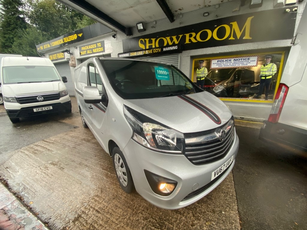 used Vauxhall Vivaro L1H1 2900 SPORTIVE CDTI in gwent