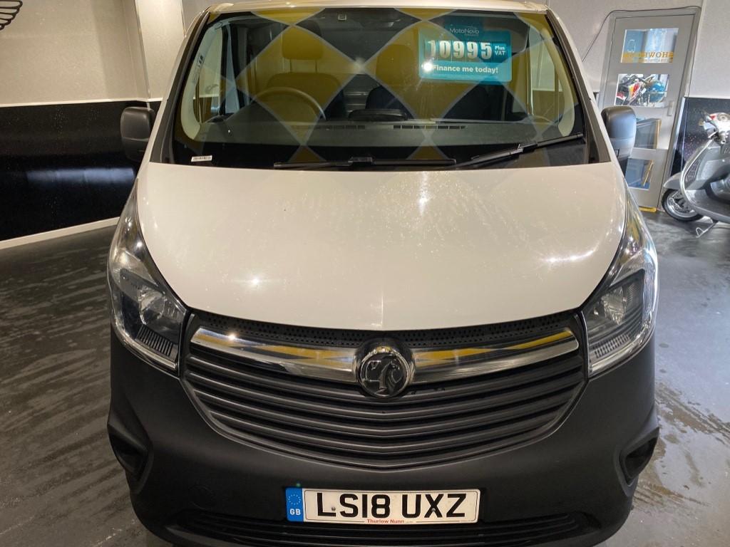 used Vauxhall Vivaro L2H1 2900 CDTI in gwent