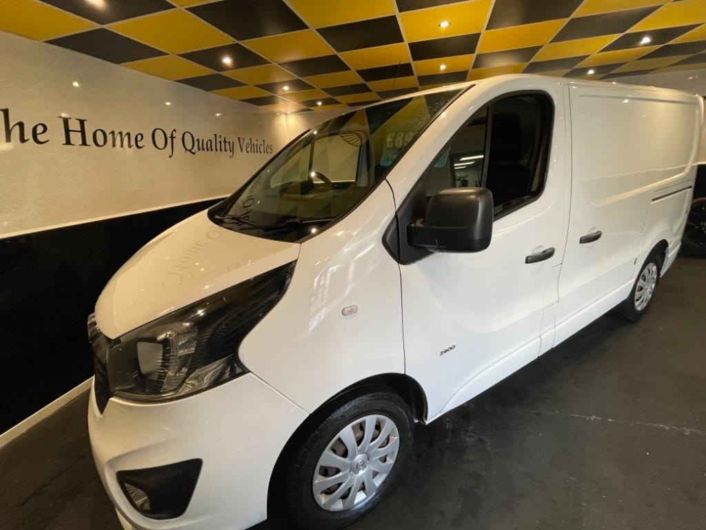used Vauxhall Vivaro 2900 L1H1 CDTI P/V SPORTIVE / TWIN SIDE DOORS in gwent