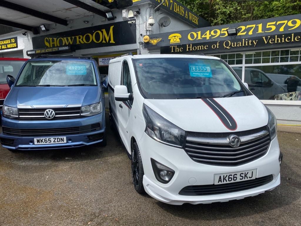 used Vauxhall Vivaro L2H1 2900 SPORTIVE CDTI BITURBO S/S in gwent