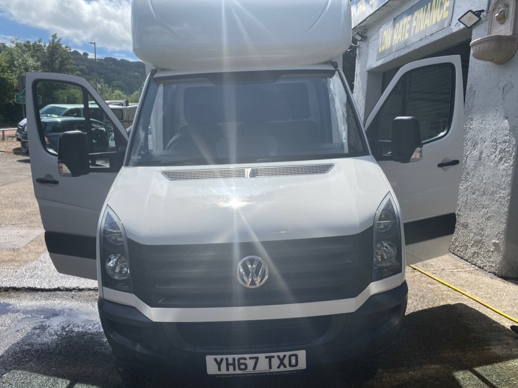 used VW Crafter CR35 TDI C/C L BMT in gwent