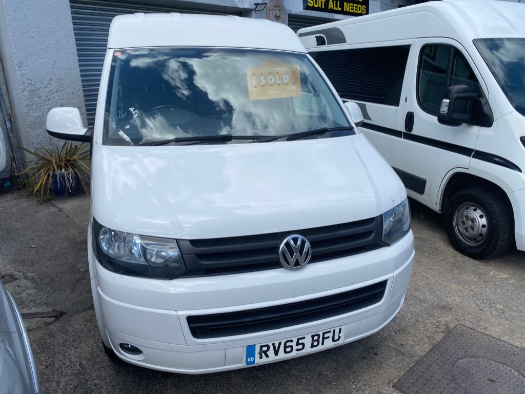 used VW Transporter T32 TDI P/V HIGHLINE 4MOTION in gwent