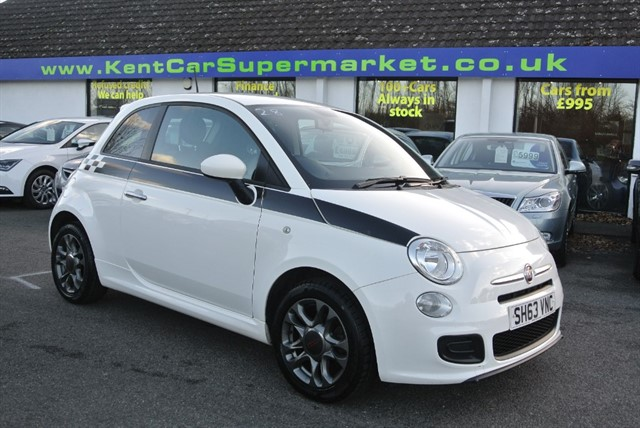 used Fiat 500 S in kent