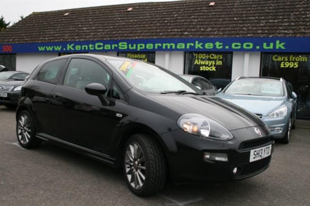 used Fiat Punto JET BLACK in kent
