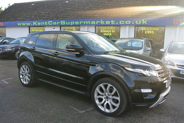 used Land Rover Range Rover Evoque SD4 DYNAMIC in kent