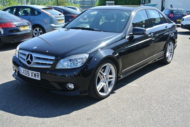 used Mercedes C200 KOMPRESSOR SPORT in kent