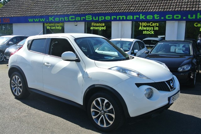 used Nissan Juke TEKNA in kent