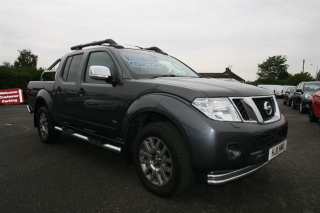 used Nissan Navara OUTLAW DCI 4X4 DCB in kent