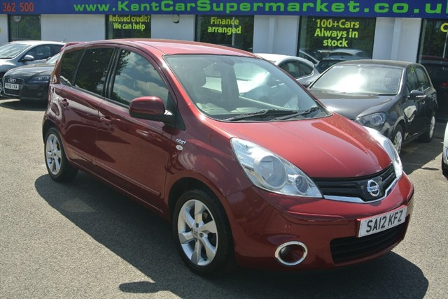 used Nissan Note N-TEC PLUS in kent