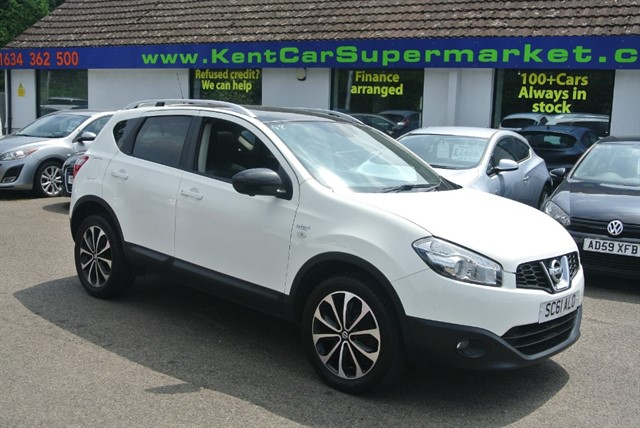 used Nissan Qashqai N-TEC PLUS in kent