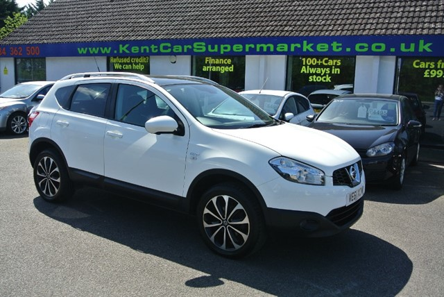 used Nissan Qashqai DCI N-TEC PLUS in kent