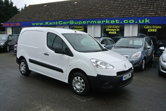 used Peugeot Partner HDI PROFESSIONAL L1 850 in kent
