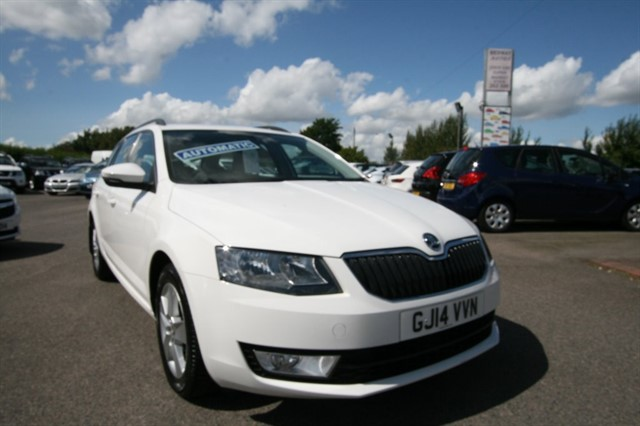 used Skoda Octavia SE TDI CR DSG in kent