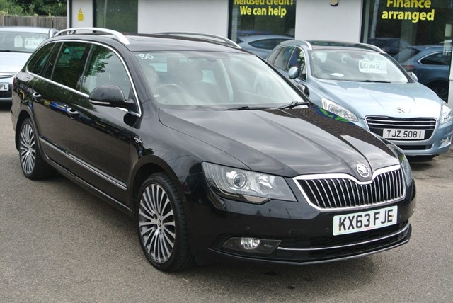used Skoda Superb LAURENT+KLEMENT CR 170 DSG in kent