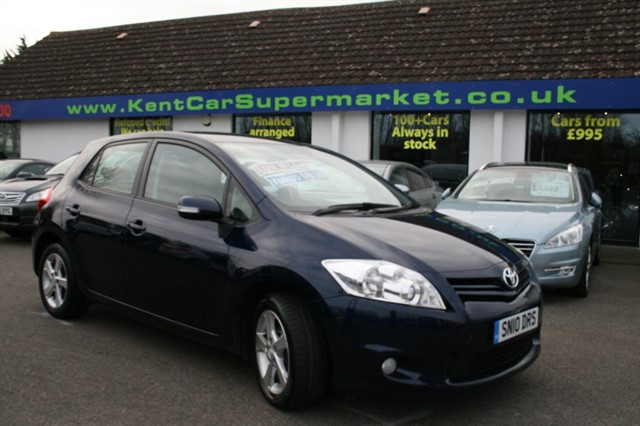 used Toyota Auris TR D-4D in kent