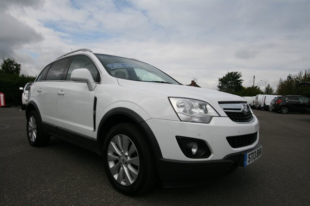 used Vauxhall Antara EXCLUSIV CDTI 4WD S/S in kent
