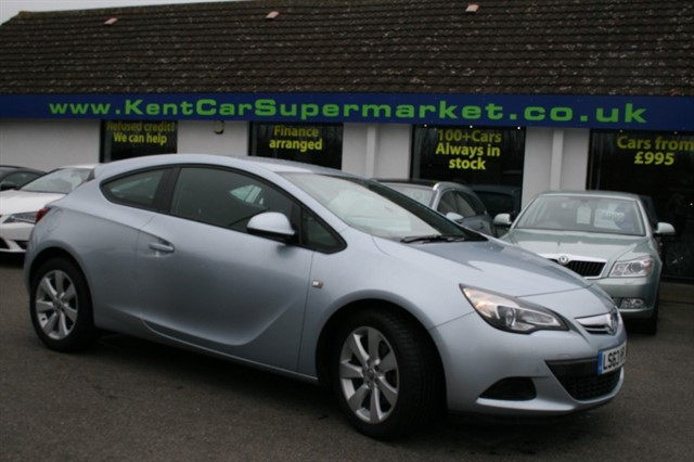 used Vauxhall Astra GTC SPORT S/S in kent