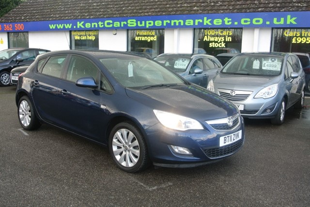 used Vauxhall Astra EXCLUSIV in kent