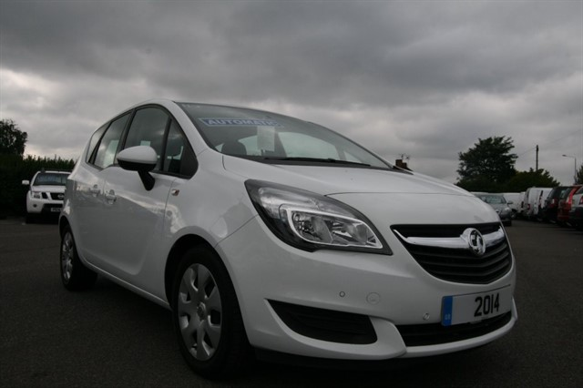 used Vauxhall Meriva EXCLUSIV AC in kent