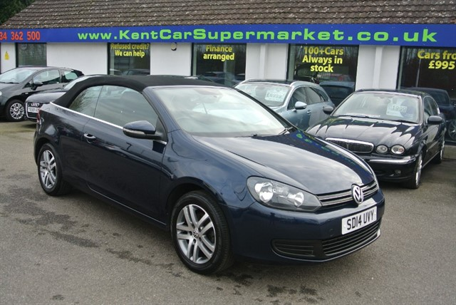used VW Golf 1.2 S TSI in kent