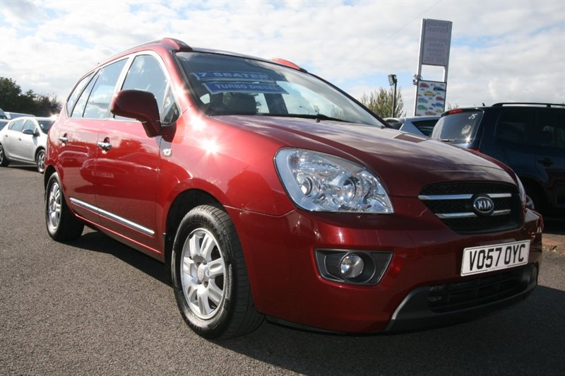 used Kia Carens GS CRDI in kent