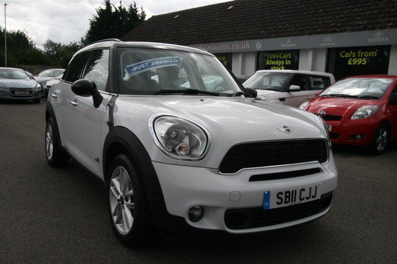 used MINI Countryman COOPER S ALL4 in kent