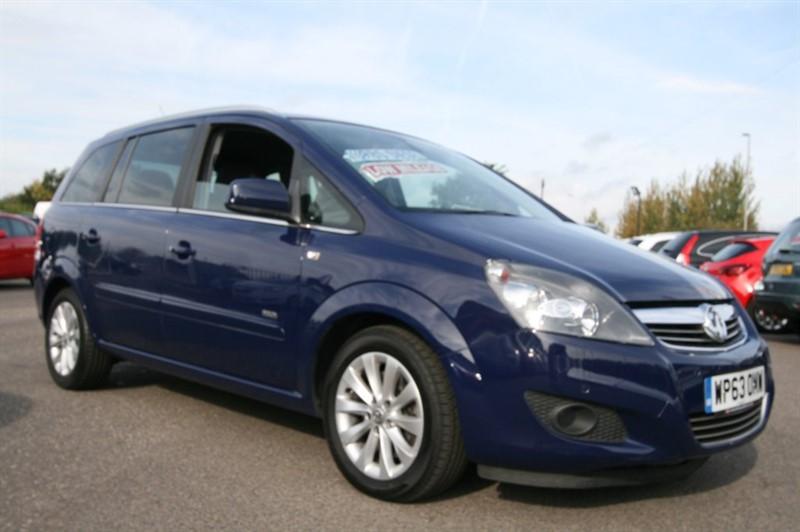 used Vauxhall Zafira DESIGN NAV CDTI ECOFLEX in kent