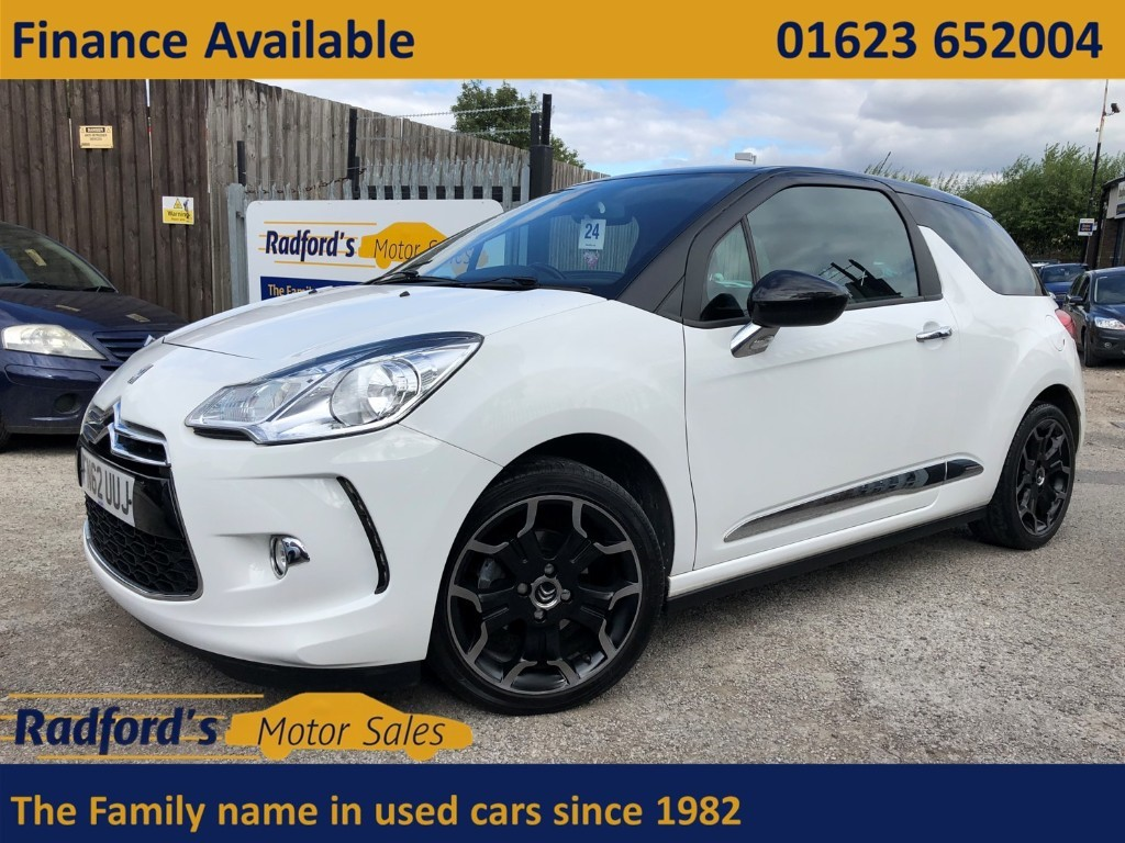 used Citroen DS3 E-HDI DSTYLE PLUS in mansfield