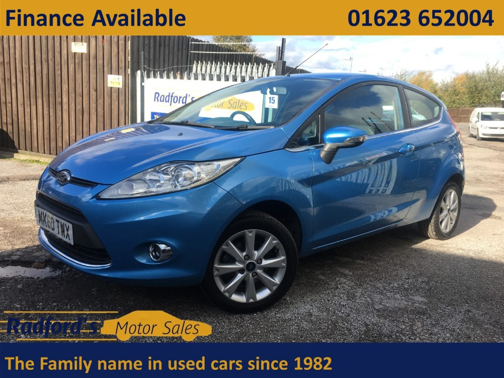 used Ford Fiesta ZETEC TDCI in mansfield