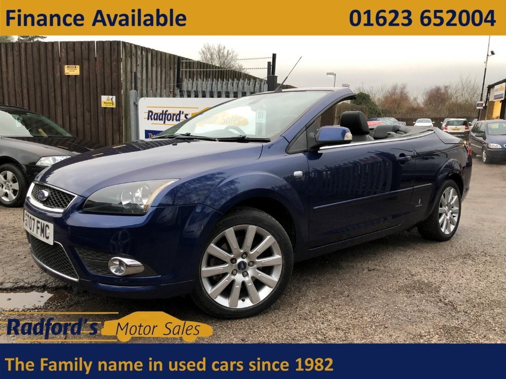 used Ford Focus CC3 in mansfield