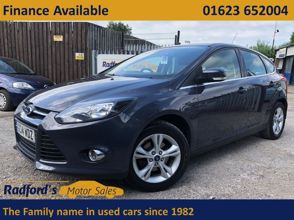 used Ford Focus ZETEC in mansfield