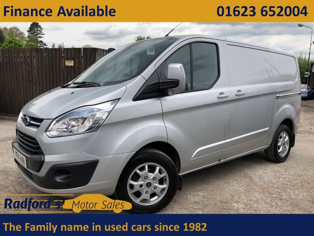 used Ford Transit Custom 270 LIMITED LR P/V in mansfield