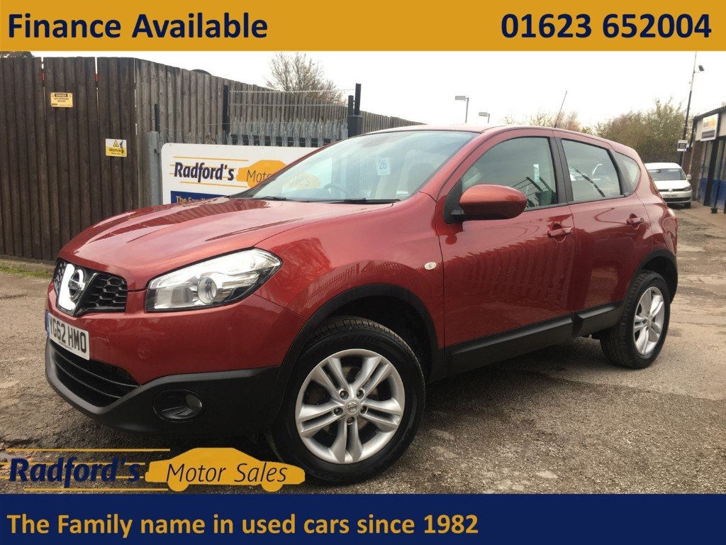 used Nissan Qashqai ACENTA IS DCIS/S in mansfield