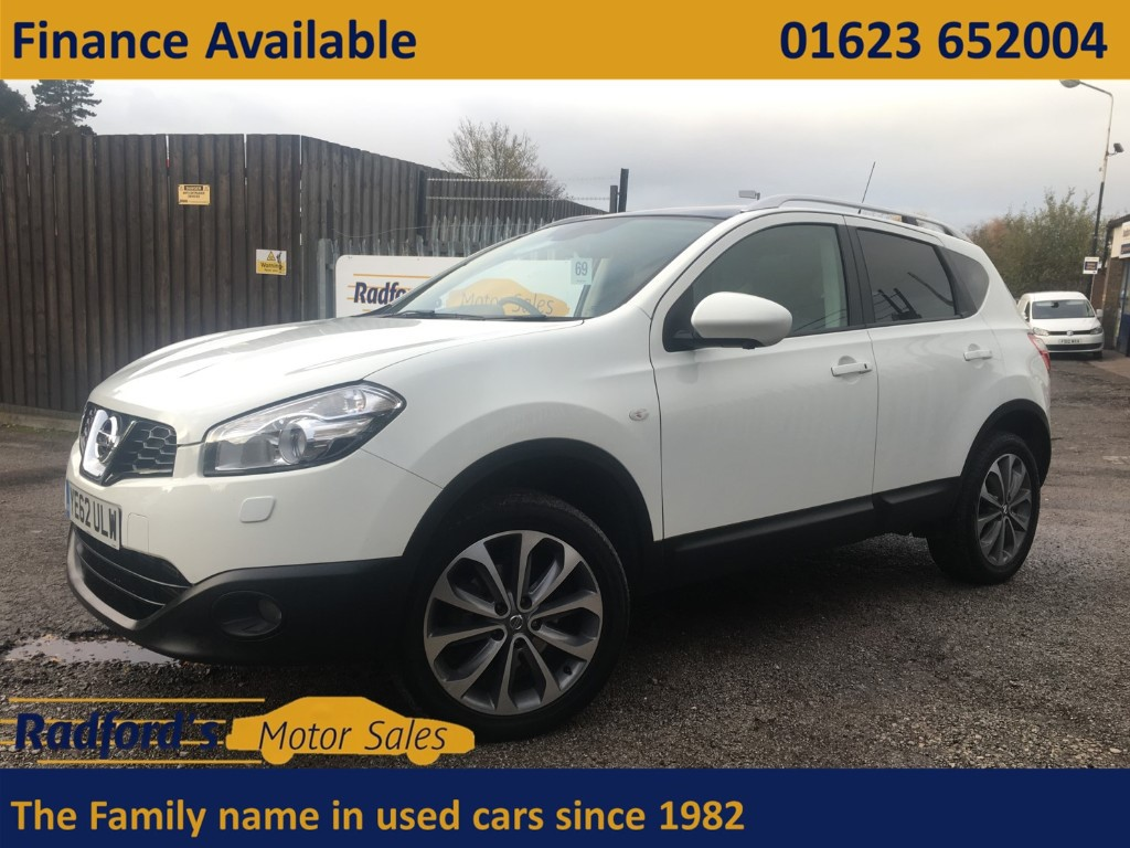 used Nissan Qashqai TEKNA IS DCI 4WDS/S in mansfield