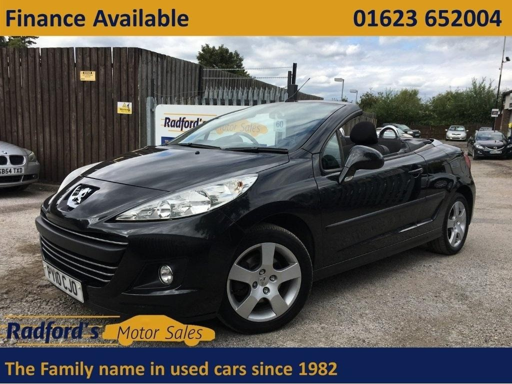 used Peugeot 207 CC CC GT SPORT in mansfield