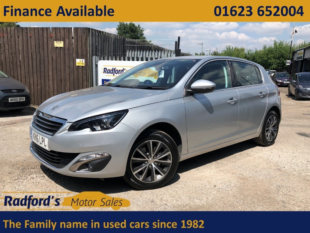used Peugeot 308 BLUE HDI S/S ALLURE in mansfield