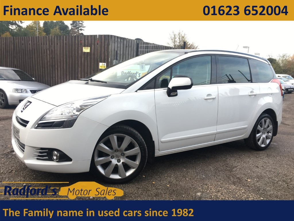 used Peugeot 5008 E-HDI ALLURE in mansfield