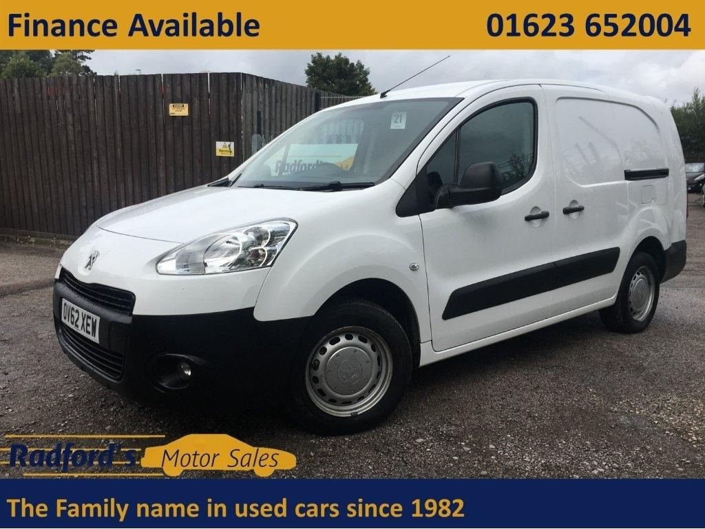 used Peugeot Partner HDI CRC in mansfield