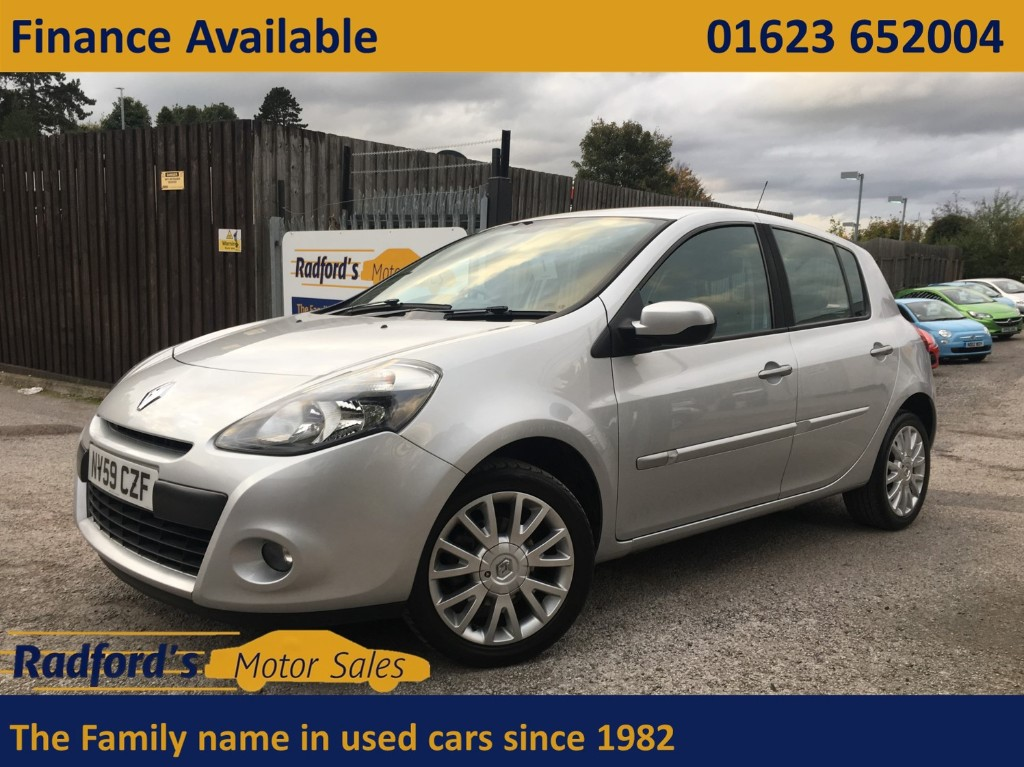 used Renault Clio DYNAMIQUE TCE in mansfield