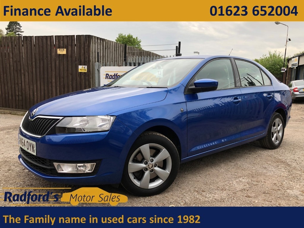 used Skoda Rapid SE GREENTECH TDI CR in mansfield