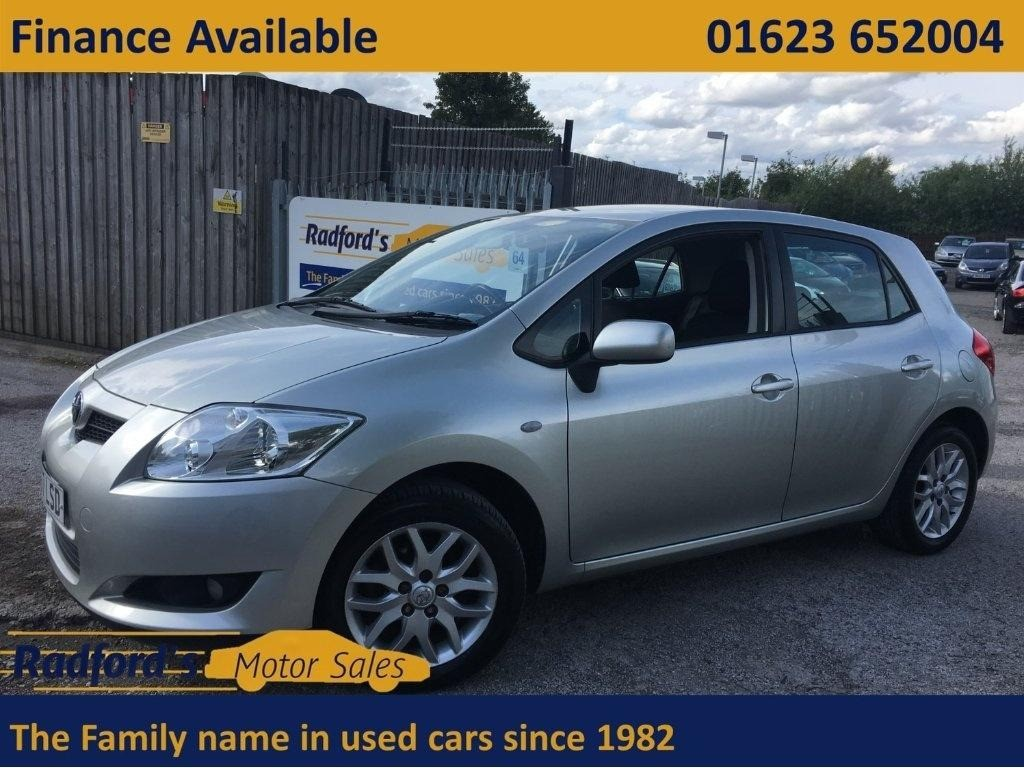 used Toyota Auris T3 VVT-I MM in mansfield
