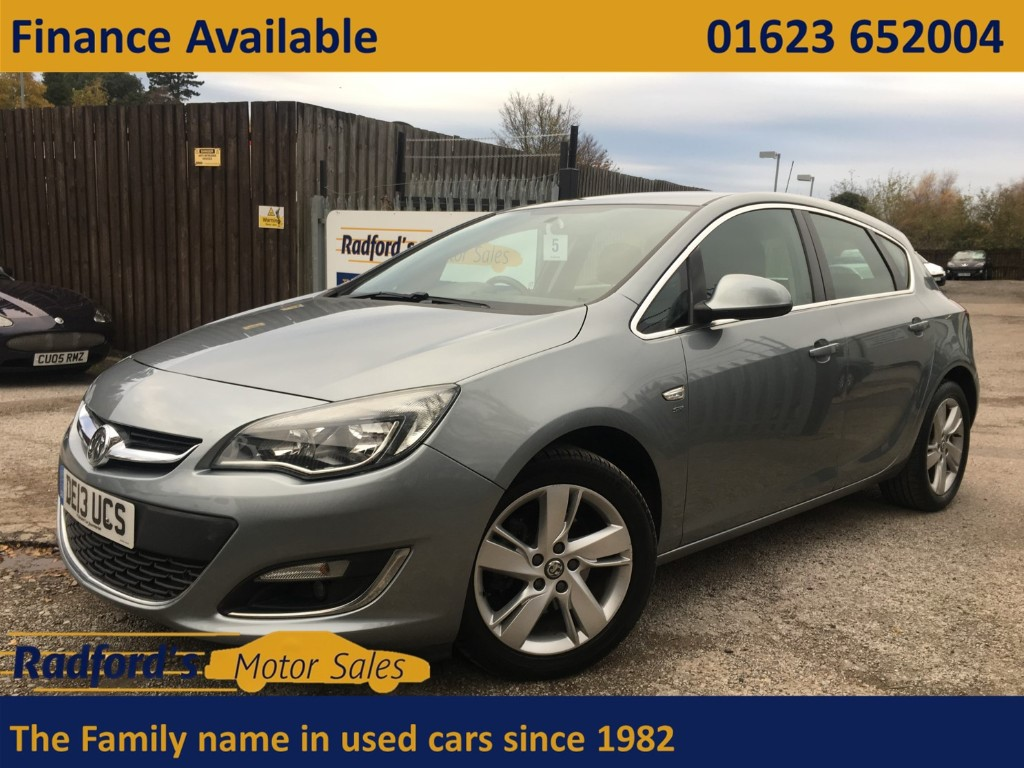 used Vauxhall Astra SRI CDTI ECOFLEX S/S in mansfield