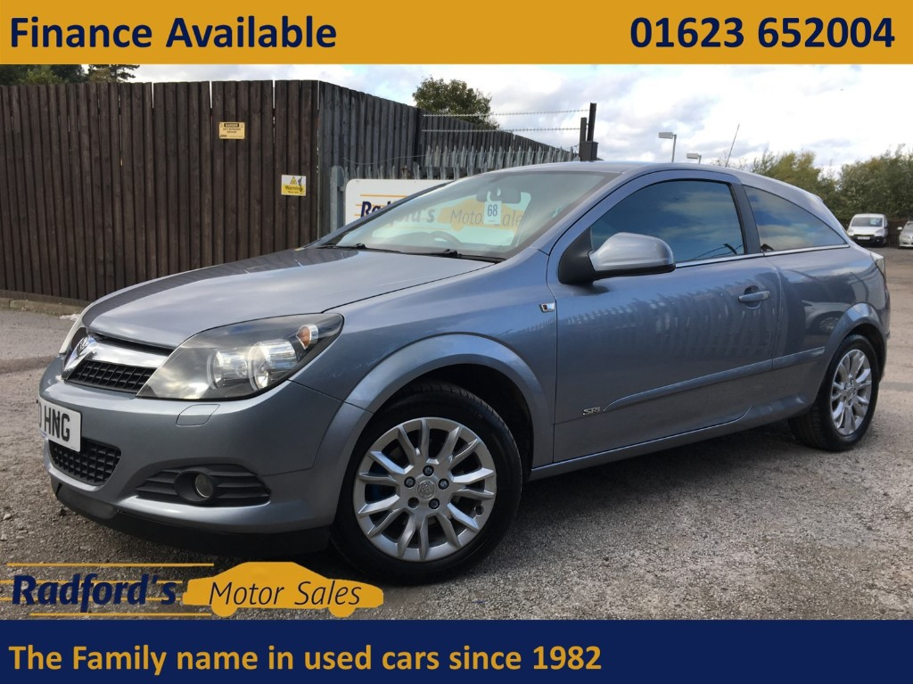 used Vauxhall Astra SRI in mansfield
