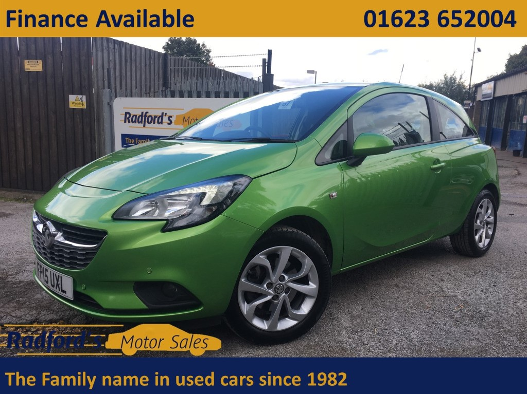 used Vauxhall Corsa EXCITE AC ECOFLEX S/S in mansfield