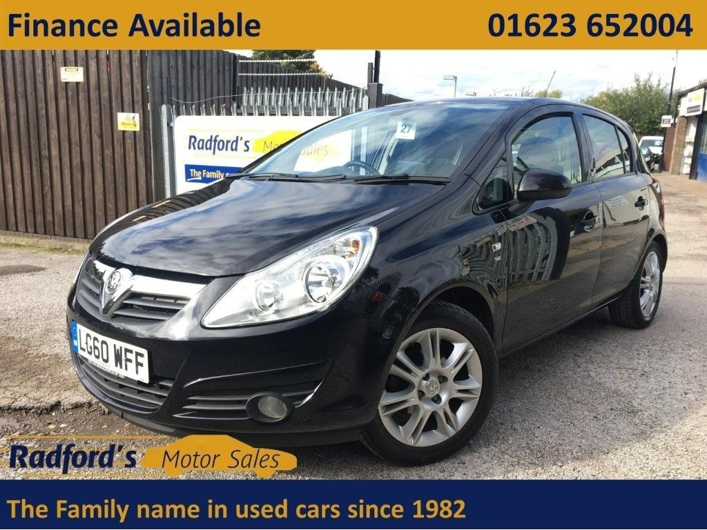 used Vauxhall Corsa SE in mansfield