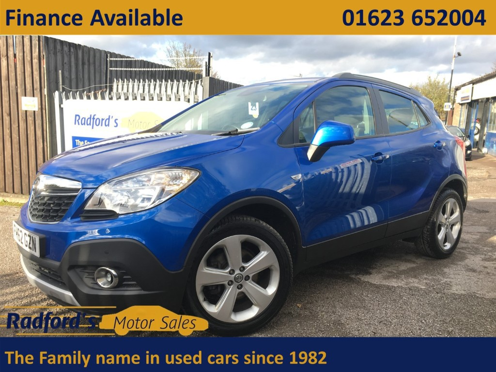 used Vauxhall Mokka EXCLUSIV S/S in mansfield