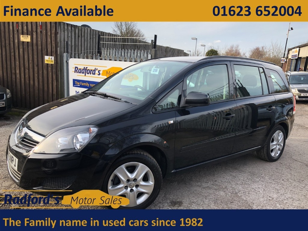 used Vauxhall Zafira EXCLUSIV in mansfield