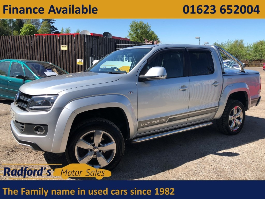 used VW Amarok DC TDI ULTIMATE 4MOTION in mansfield