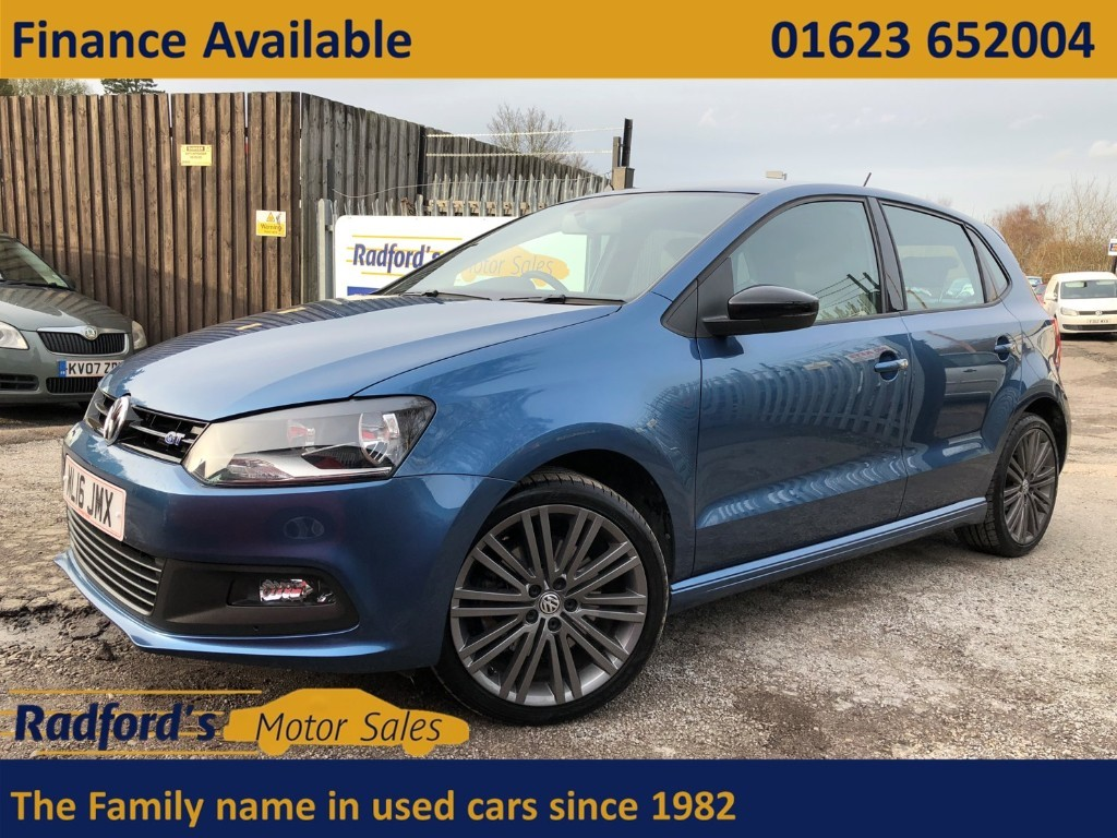 used VW Polo BLUEGT in mansfield