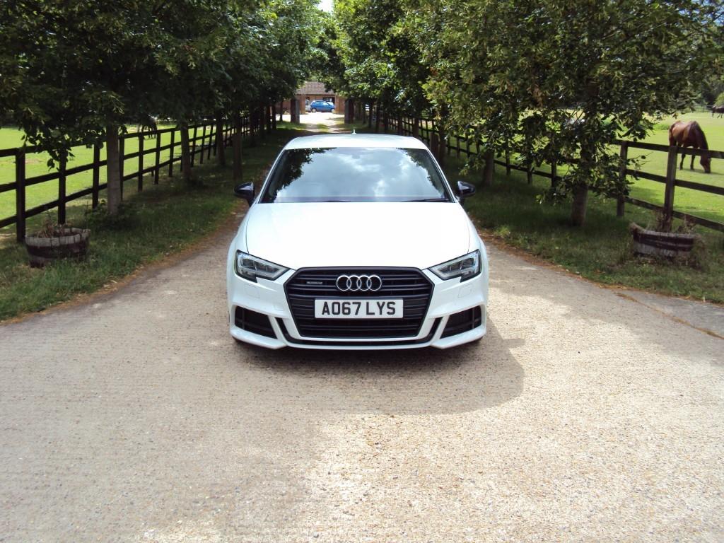 used Audi A3 TDI QUATTRO S LINE BLACK EDITION in suffolk